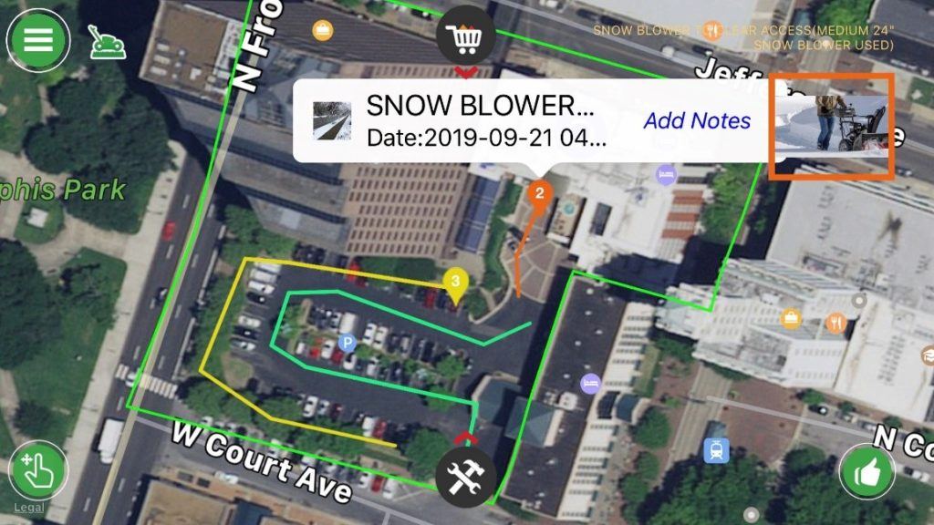Report Work By Snow Removal Services Software